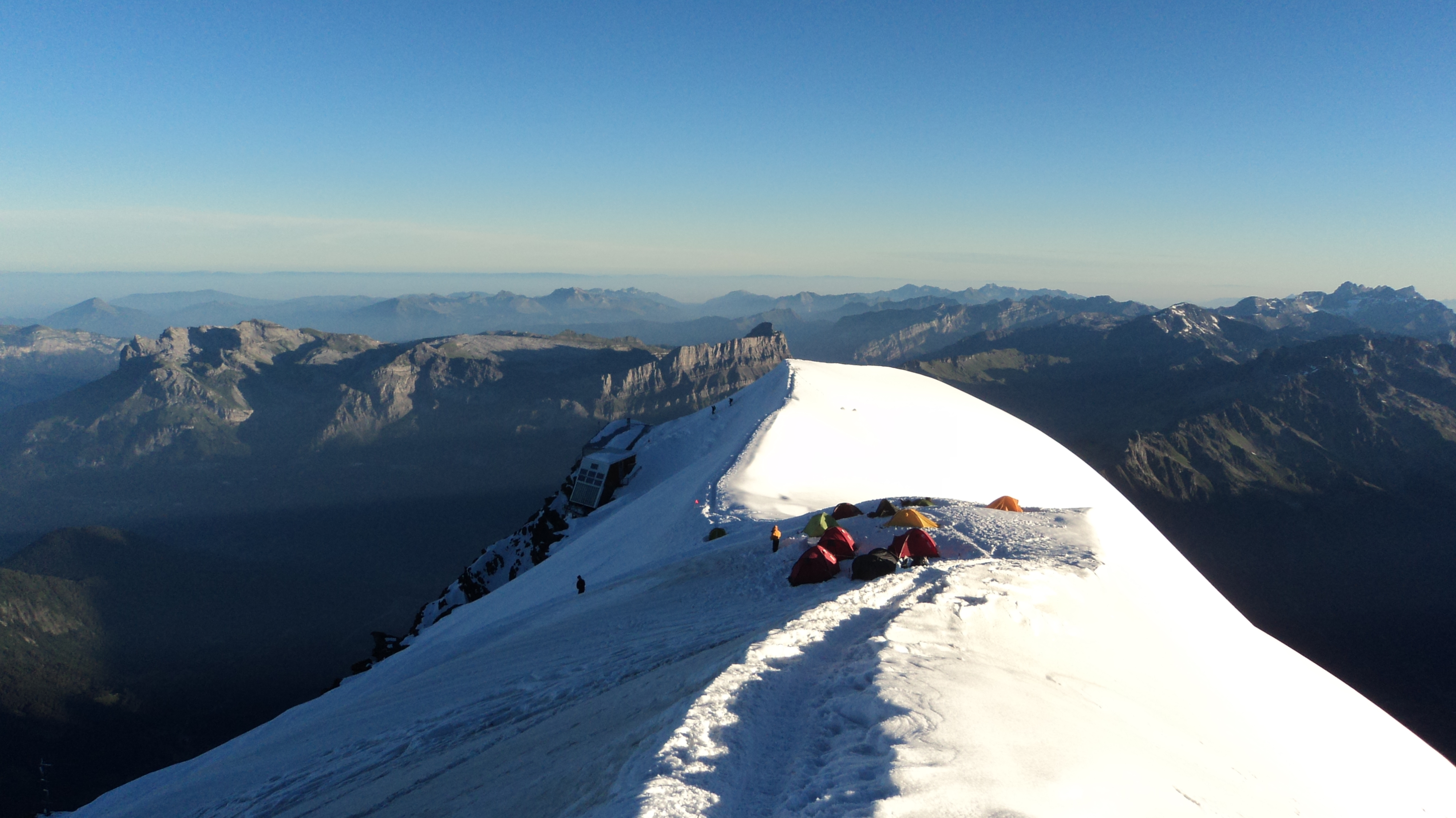2010 mont blanc high camp because it 39 s there for Carrelage mont blanc sallanches