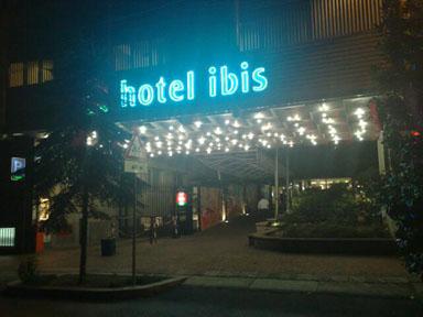 Alps 2008 - Ibis hotel in Milan