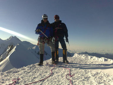 Alps 2008 - Breithorn summit
