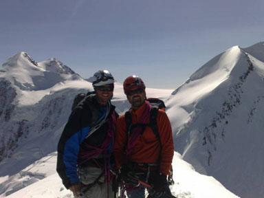 Alps 2008 - Pollux summit 10:30 AM