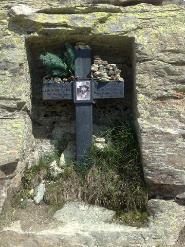 Alps 2008 - The Carell Cross