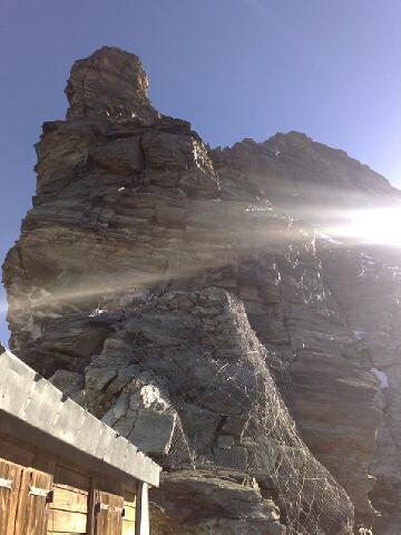 Alps 2008 - Liongrat above the Carell hut