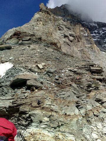 Alps 2008 - Liongrat from col del Leone