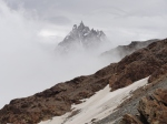 2011-08 Mont Blanc - Aiguille du Midi during the approach