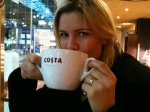 London 2011 - A BIG cup of coffee