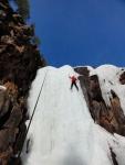 Trangslet 2012 - Jonna climbing in the sun