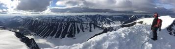 Rasmus on the summit